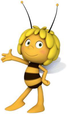 maya de bij - Google zoeken Party Cartoon, Cartoon Bee, Bee Images, Quilling, Nursery Rhymes Songs, Bee Party, Belly Painting, Clip Art, Digi Stamps