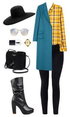 Street style by dalma-m on Polyvore featuring polyvore fashion style Paul Smith J Brand WithChic Yves Saint Laurent Elizabeth Locke Maison Michel Ray-Ban NARS Cosmetics clothing