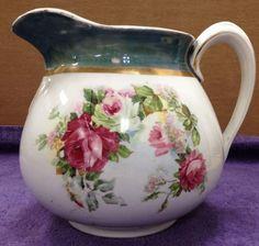 Antique Limoges Porcelain Pitcher