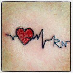 11 best rn tattoos images on pinterest rn tattoo nursing tattoos