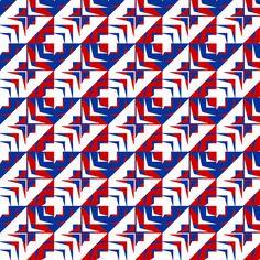 houndstooth  echo u                                                        k_synergy0006_alt3 fabric by glimmericks on Spoonflower - custom fabric