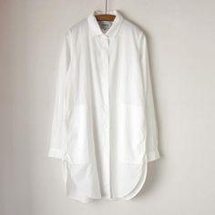 YAECA : スタンダードロングシャツ