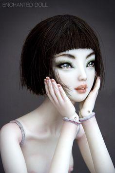 Emerald - Enchanted Doll by Marina Bychkova