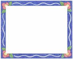 Blue frame