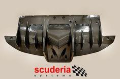 The rear diffusor
