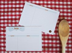 Free Printable Recipe Cards by Design is Yay