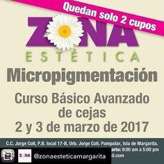 @Regrann from @oasisstylesalondebelleza -  Y aquí estamos aprendiendo algo nuevo. Muchas de mis clientes me han pedido sobre el tema de la micropigmentacion de cejas. Pronto buenas noticias.  Repost from @zonaesteticamargarita using @RepostRegramApp - #CursoBásicoAvanzado de #Micropigmentacion de cejas 2 y 3 de marzo de 2017 en #Margarita #NuevaEsparta