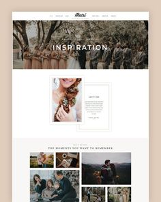 Alatsi is an aesthetically feminine and delicate and highly visually stimulating designed for creative photographers, freelancers and other creative professionals that want a stylish yet business-like theme to house their portfolio, blog, and online store. Alatsi is everything you need to build an