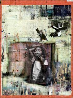 Brian Hubble - Children at Risk Mixed Media Photography, Art Photography, Art Alevel, Political Art, Political Events, A Level Art, Identity Art, Gcse Art, Elements Of Art
