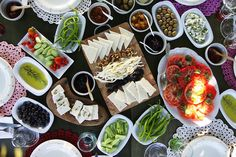 Turkish Breakfast at Patiska Bağ Evi, Bozcaada by Olga Irez