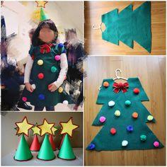 christmas tree costume diy felt and pom pom christmas tree costume diy diy