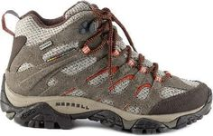 BUNGEE CORD Merrell Moab Mid-Waterproof Hiking Boots $130 REI