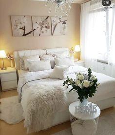 Inexpensive Teen Girls Bedroom Ideas With Simple Interior Dream Bedroom, Home Bedroom, Girls Bedroom, Bedroom Furniture, Master Bedroom, Bedroom Decor, Furniture Decor, Bedrooms, Suites