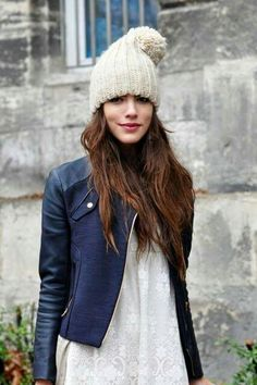 Comfy hat, cool jacket