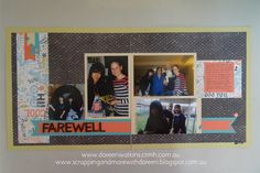 based on Layout #10 from Make It From Your Heart Vol 2 www.scrappingandmorewithdoreen.blogspot.com.au