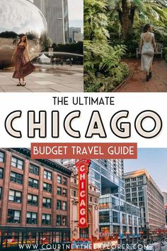 Chicago is one of the top travel destinations in the USA  - and for good reason! There is so much to see, do and eat!!! Plan your Chicago Travel on a budget with my ultimate travel guide. This guidebook will help you discover the 10 best things to do, top places to eat, where to stay and how to get around the city when you travel to Chicago. Enjoy a wonderful weekend getaway to this amazing Midwest city! Top Travel Destinations, Best Places To Travel, Budget Travel, Chicago Travel, Travel Usa, Midwest City, Travel Guides, Travel Tips, Ultimate Travel