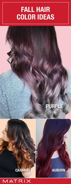 When the seasons change, your hair tends to change as well! Visit www.matrix.com to learn more about Fall Hair Color Trends!