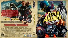 Captain America: The Winter Soldier Blu-ray Custom Cover