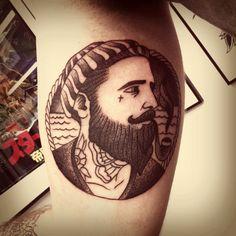 Old School sailor tattoo