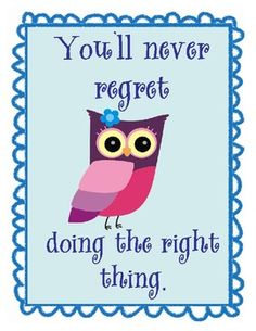 Owl Themed Motivational Posters $