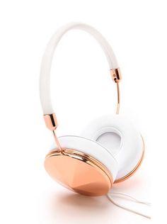 rose gold taylor headphones