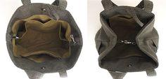 Green handbag tote bag converts to hobo shoulder bag by daphnenen