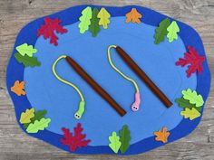 Magnetic Felt Fishing Game PDF Pattern Felt Fish PDF | Etsy Educational Toys For Toddlers, Games For Toddlers, Kids Toys, Diy For Kids, Gifts For Kids, Felt Games, Felt Fish, Dinosaur Party Favors, Sensory Toys