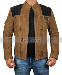 6225e1433a Solo A Star Wars Story Brown Leather Jacket