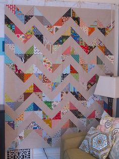 Zig and a Zag | A zig and a Zag | Sew Katie Did | Flickr