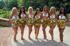 New Orleans Saints SaintSations(Cheerleaders) 2014-2015