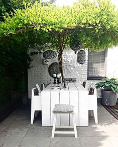 Pergola For Small Backyard Outdoor Life, Outdoor Rooms, Outdoor Dining, Outdoor Furniture Sets, Outdoor Decor, Backyard Pergola, Backyard Landscaping, Pergola Kits, Pergola Ideas