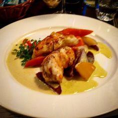 #seeteufel #lotte #gemüse #vegetables #rüben #düsseldorf #dinner #foodporn
