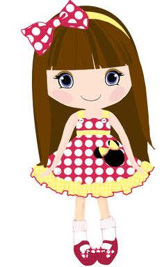 doll clip art digital clipart etsy 18png300dpi for commercial and rh pinterest com doll clip art free doll clip art images
