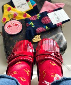 Gucci Shoes, Louis Vuitton Metis & Happy Socks