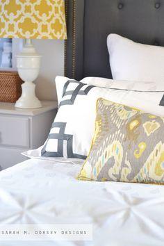 sarah m. dorsey designs: Updated Master Bedroom Pillows