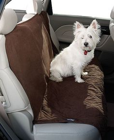 Sure Fit Slipcovers, Pet Double Car Seat Cover      Web ID: 506772