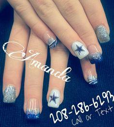 Cowboy nails I did nails by amanda