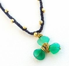This Wire-Wrapped Clover Pendant is a wonderful choice for St. Patrick's Day crafts. You'll get a chic piece of DIY jewelry and learn how to make a pendant with beads and wire