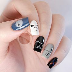 Better peep at the thumb with the Death Star. Check out my YT for the tutorial! #starwars