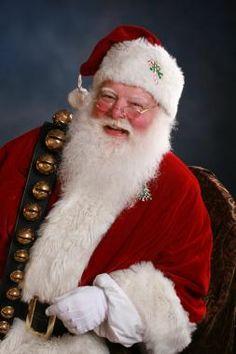Real-Bearded Santa Claus