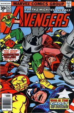 The Avengers (1963) Issue #157 - Read The Avengers (1963) Issue #157 comic online in high quality