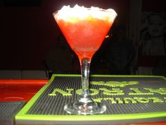 Cherry Creme Pop Martini. Made by Damien The Intoxicologist Filth