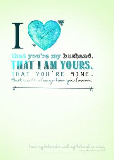 That I Am Yours