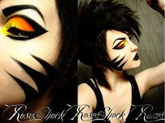 Tanja of Rose Shock is such a fox in Buttercupcake, Tako, Bulletproof and Flamepoint!