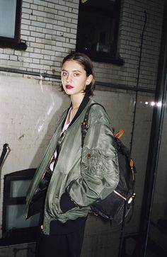 Burberry Beauty — Between takes. Iris Law for Burberry.