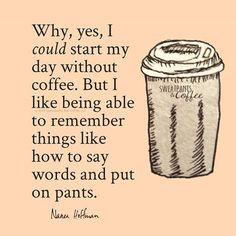 Sweatpants & Coffee's photo. http://ibeebz.com