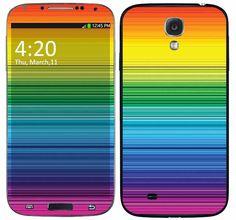 Skin Celular Arco Iris Samsung Galaxy S4
