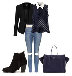 """:)"" by sejla-imamovic ❤ liked on Polyvore featuring Topshop, Maison Boinet, Balenciaga and Nly Shoes"