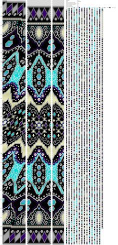Peyote Stitch Patterns, Bead Crochet Patterns, Bead Crochet Rope, Beaded Jewelry Patterns, Beading Patterns, Beaded Crochet, Native Beadwork, Tapestry Crochet, Seed Bead Jewelry