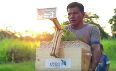 Researchers in Peru have a new way to capture electricity from plants and bacteria to help rainforest communities.